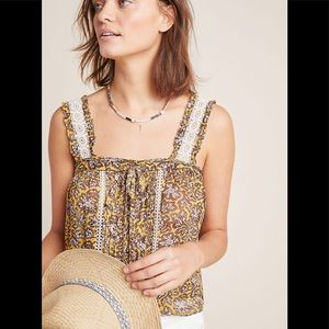 Anthropologie- Bardot 2 in 1 Top